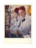Vsevolod Meyerhold, Russian Actor Giclee Print by Aleksandr Jakovlevic Golovin