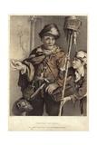The Rat Catcher Giclee Print by Cornelius de Visscher