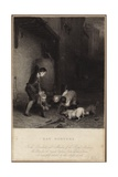 Rat Hunters Giclee Print by David Wilkie