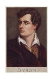 Lord Byron (1788-1824), English Poet Giclee Print by Cecil Watson Quinnell