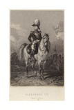 Alexander I of Russia Giclee Print by Eugene-Louis Lami