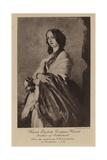 Lady Harriet Elizabeth Georgiana Howard Giclee Print by Franz Xaver Winterhalter