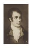 Robert Burns (1759-1796), Scottish Poet and Lyricist Giclee Print