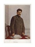 Joseph Stalin, Soviet Bolshevik Leader Giclee Print by Isaak Israilevich Brodsky