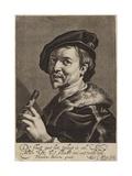 Portrait of Cornelis Bloemaert Giclee Print by Theodore van, called Dirk Baburen
