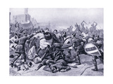 Stephen Taken Prisoner at Battle of Lincoln Ad1141, 1920's Giclee Print by Alfred Pearse