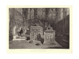 The Beauchamp Chapel, Warwick Giclee Print by George Cattermole