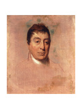 A Life Study of the Marquis De Lafayette, 1824-1825 Giclee Print by Thomas Sully