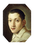 Head of a Youth Giclee Print by Lodovico Carracci