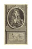Portrait of King James II of England Giclee Print by Pieter van der Werff