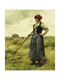 Harvest Time, 1890 Giclee Print by Julien Dupre
