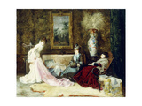 Fine Lace, 1877 Impression giclée par Francisco Masriera y Manovens