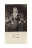Portrait of Hannah More Giclee Print by Henry William Pickersgill