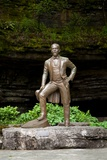 Statue of Jack Daniels at the Whiskey Distillery in Lynchburg Tennessee Photographic Print