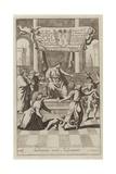 Solomon Wise Judgement Giclee Print by G Freman