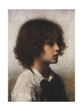 Faraway Thoughts Giclee Print by Alexei Alexevich Harlamoff