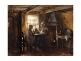A Quiet Afternoon Giclee Print by Bernardus Johannes Blommers or Bloomers