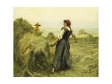 Haymaking; Fenaison Giclee Print by Julien Dupre
