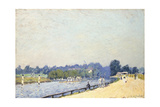 The Road to Hampton Court; La Route De Hampton Court, 1874 Giclee Print by Alfred Sisley