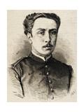 Jacinto Abarguer De Rey. Engraving Giclee Print by A. Perea