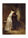 Lovers in a Sylvan Wood Giclee Print by Robert Julius Beyschlag