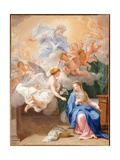 The Annunciation Giclee Print by Giovanni Odazzi