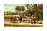 The Wagon's Empty Giclee Print by William Aiken Walker