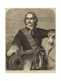 Peter the Great Giclee Print by Hippolyte Delaroche