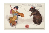 I'Ve Got Him on a String You See Giclee Print by Dudley Hardy
