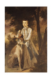 Portrait of John Graham, as a Boy, Full-Length, in Indian Dress Holding a Garland of Flowers… Giclee Print by Tilly Kettle