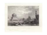 Tombs of the King of Golconda Giclee Print by William Purser