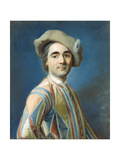 A Portrait of an Actor as Arlequin Giclée-Druck von Louis Vigee