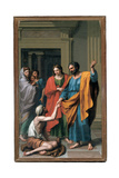 Saint Peter and Saint John Healing the Paralytic, 1783 Giclee Print by Francisco Javier Ramos Y Albertos