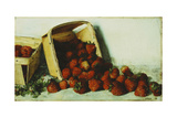 Basket of Strawberries, 1883 Giclee Print by Joseph Decker
