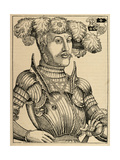 Philip I of Hesse (1504-1567). Engraving Giclee Print by Hans Brosamer