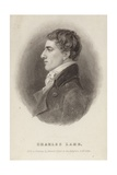 Portrait of Charles Lamb Giclee Print by Robert Hancock