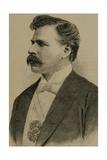 Julio Herrera Obes (1841-1912). Engraving Giclee Print by Arturo Carretero y Sánchez