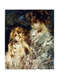 Mother and Child Giclee Print by Vicenzo Irolli