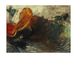 The Death of Ophelia; La Mort D'Ophelie Giclee Print by Odilon Redon