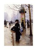 A Parisian; Une Parisienne Giclee Print by Jean Béraud