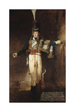 Portrait of Captain, Later Lieutenent Colonel, Henry Francis Mellish (1782-1817), Full-Length, in… Giclee Print by Benjamin Marshall