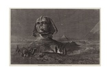 The Sphinx at Midnight Giclee Print by Frank Dillon