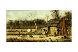 Cabin Scene Giclee Print by William Aiken Walker