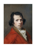 Portrait of Antonio Canova, Bust Length, Wearing a Coat Giclee Print by Hugh Douglas Hamilton