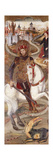 Saint George and the Dragon Giclee Print by Jaume Huguet
