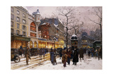 Matinee Au Moulin Rouge, Paris Giclee Print by Eugene Galien-Laloue