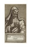 John VI Kantakouzenos Giclee Print by Andre Thevet