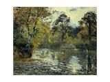 The Pond at Montfoucault; L'Etang De Montfoucault, 1874 Giclee Print by Camille Pissarro