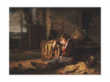 The Little Sleeper; Le Petit Dormeur, 1795 Giclee Print by Martin Drolling