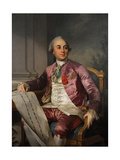 Charles-Claude Flahaut De La Billarderie, 1780-1789 Giclee Print by Joseph Siffred Duplessis
